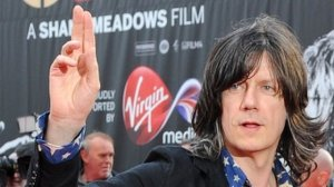 John Squire at Stone Roses premiere - it was this or a pic of the train station