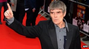 "Ian Brown, Stone Roses - ""hey Lady at Desk come back"""