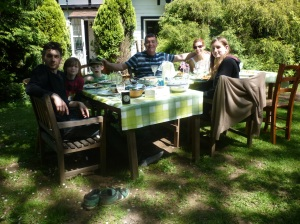 In our English country garden