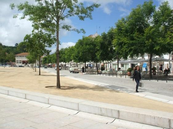 Street in Alcobaça