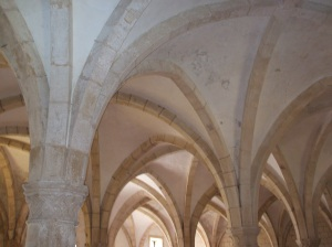Alcobaça abbey, cloisters