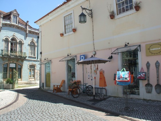 Alcobaça, shops, street scene, Portugal Silver Coast, Places to Visit