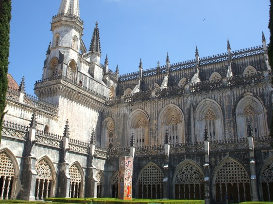 Batalha monastery, cloisters, Silver Coast, places to visit