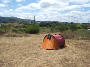Camping Silver Coast, tent, rural camping Portugal