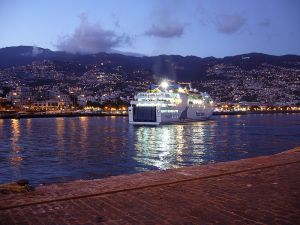 Funchal ferry crossing